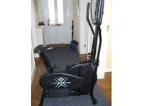 Delux Crosstrainer/Exercise bike