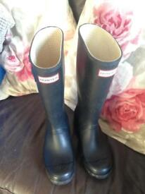 Hunter wellies size 3