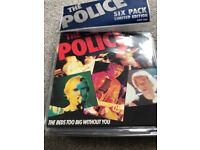 The police limited edition blue vinyl