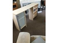 Dressing table/ desktop hutch FREE