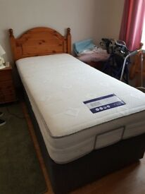 ****BRAND NEW - NEVER USED**** Westwood Single Adjustable Electric Bed in Slate Grey
