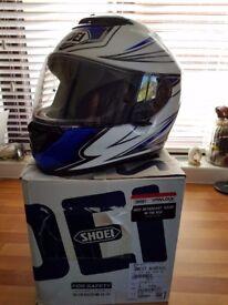 Shoei qwest airfoil helmet size large