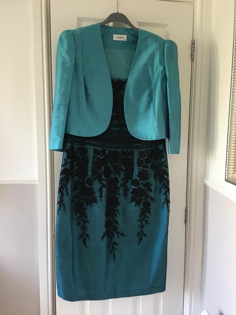 Condici Mother of the Bride Outfit (dress, jacket & hat) | in ...