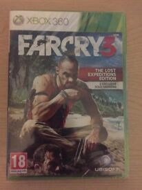 FarCry 3 (Xbox 360) Lost Expeditions Edition Brand New & Sealed