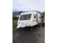 swift challenger 540. 2007 4 berth fixed bed including many extras