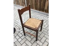6 table chairs - used but still wit life in them