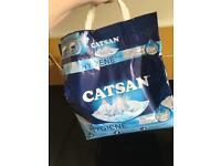 Free cat litter (opened)