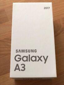 Samsung Galaxy A3 SM-A320F 2017 - Black, Unlocked - Excellent condition