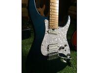 bacchus japan custom build guitar