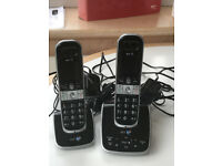 BT Twin digital cordless phones and answering machine