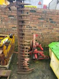 Tractor three point linkage pto driven finger bar mower £50