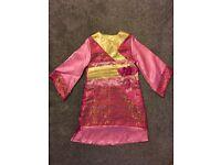 Girls oriental dress fancy dress costume age 3-4 years