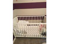 Brand new baby cot & matress