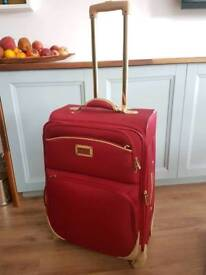 Nicole Miller Expandable Suitcase used once