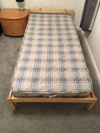 Single bed + mattress for sale