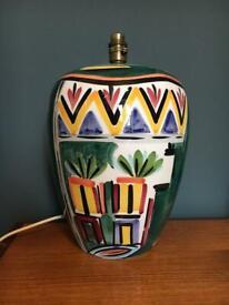 Large retro lamp