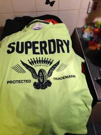 Superdry t shirt mens