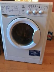 Indesit washing machine. Excellent condition. New home forces sale