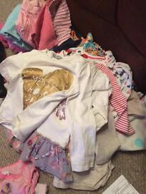 Over 100 items of 2-3 girls clothe
