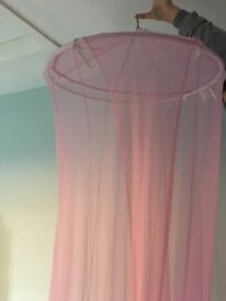 6ft drop over bed net canopy