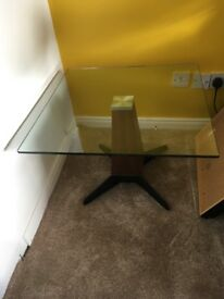 Glass Side Table great condition
