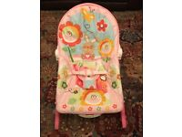 Exc Cond Fisher Price Infant to Toddler Rocker / Seat / Bouncer