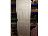 Internal 6 Panel Grain Effect Door