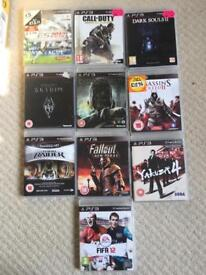 PS3 - PlayStation 3 Games - Assorted 10 Games