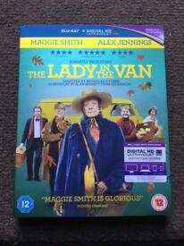 The Lady In The Van Blu - Ray With D.C