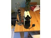 Nespresso machine - magimix Inissia with aeroccino and pod holder