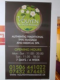 A youyen thai massage, full body MOT
