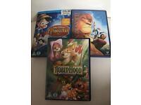 X3 Disney DVD bundle