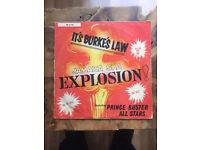 It's Burkes Law - Jamaica Ska Explosion - VERY, VERY RARE vinyl record Album