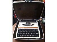 Smith- corona typewriter in case