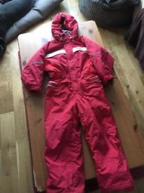 Cross child's ski suit 104/110 cm