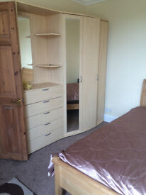 Double room very close to the train station