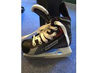 Bauer kids ice hockey skates- Vapor X30