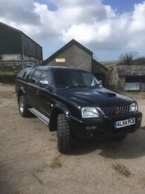 Black Mitsubishi warrior