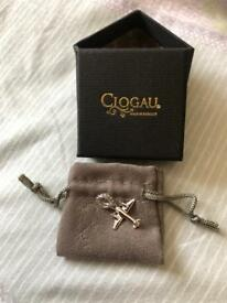 Clogau aeroplane charm brand new in box with certificate