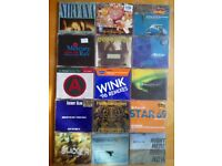 Job Lot of 53 CD Singles (Early 90's - 2000) Leftfield, Nirvana, Prodigy, Chemical Brothers etc..