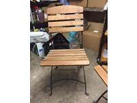 Cafe/Restaurant folding wooden chairs