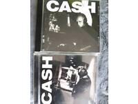 2 johnny cash cds
