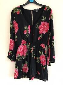 Stunning floral playsuit