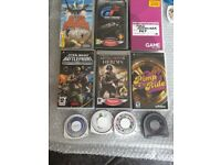 Psp games and films bundle for sale