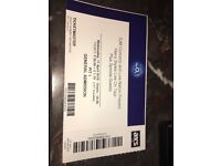 Harry Styles standing ticket for 11/4/18