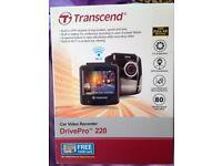 Transcend In car video camera. New in box