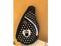 Black and White cat backpack.