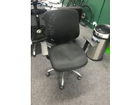 office swivel chair mesh back with arm