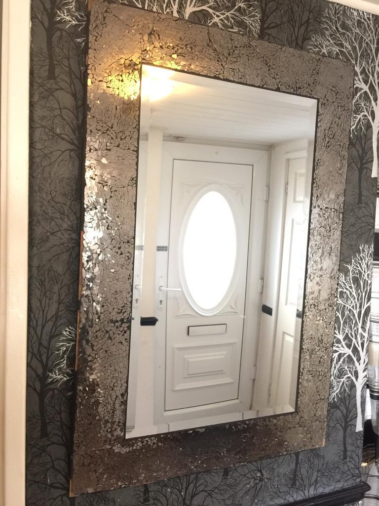 Shattered Glass Effect Wall Mirror From NEXT