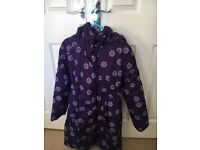 'Name it' puffer purple warm winter coat